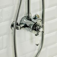 Traditional Exposed Thermostatic Shower Valve - Sinks-Taps.com