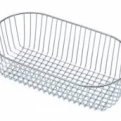 Kitchen Drainer Basket Lowes Storage Sink Baskets Sinks Taps Com Csb10ch Chrome Small Bowl