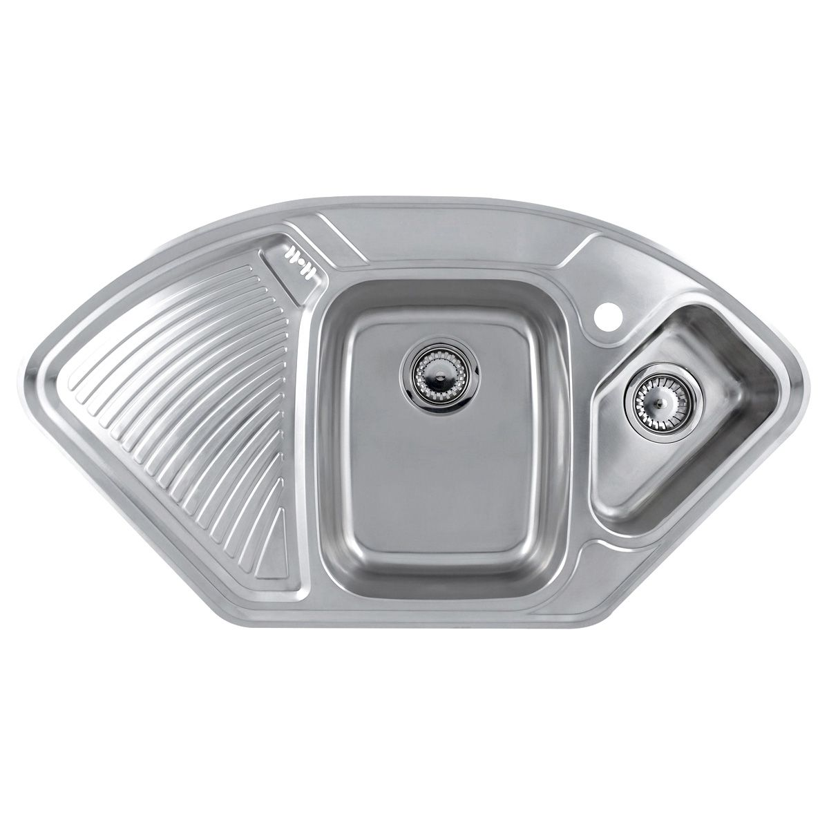 Astracast LAUSANNE Deluxe 1.5 Bowl Corner Kitchen Sink