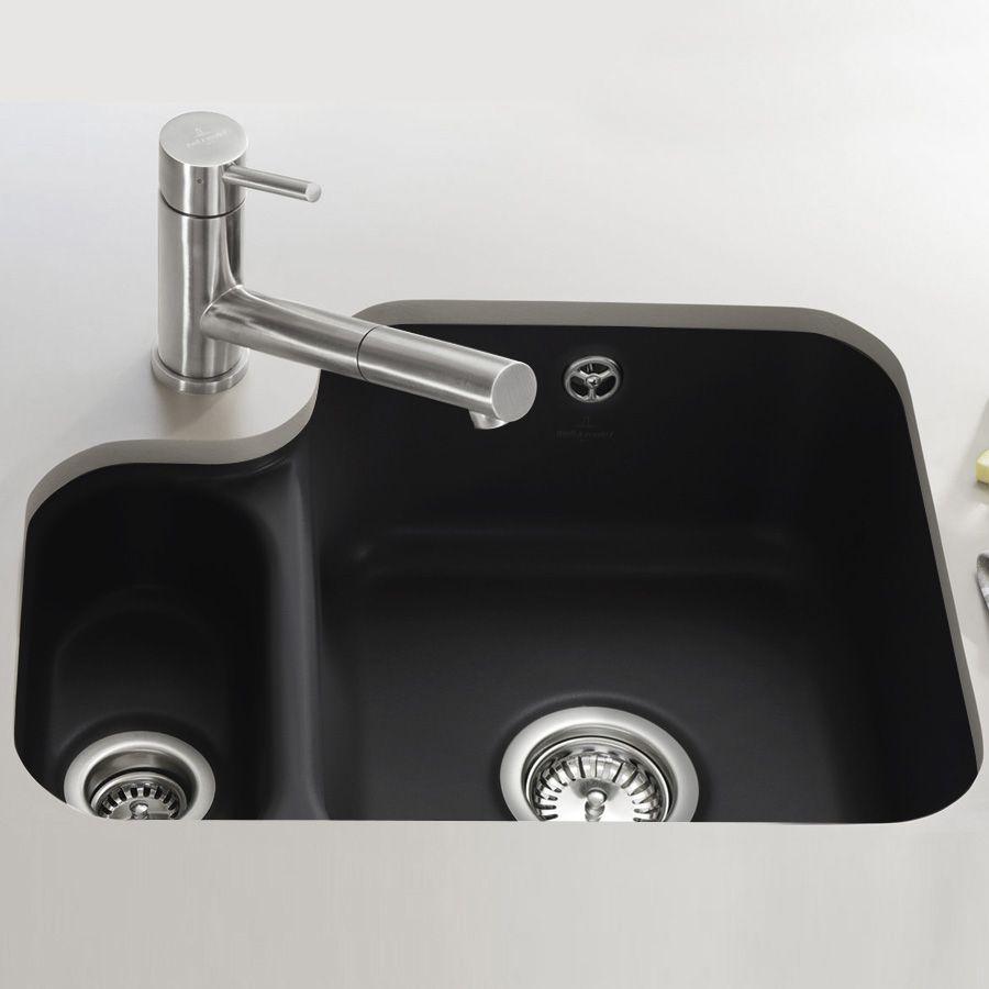villeroy boch cisterna 60b premium line 1 5 bowl undermount kitchen sink