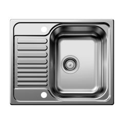Small Kitchen Sinks Cabinet Doors Home Depot Blanco Tipo 45 S Mini Inset Sink Taps Com Single Bowl With Drainer Bl450897