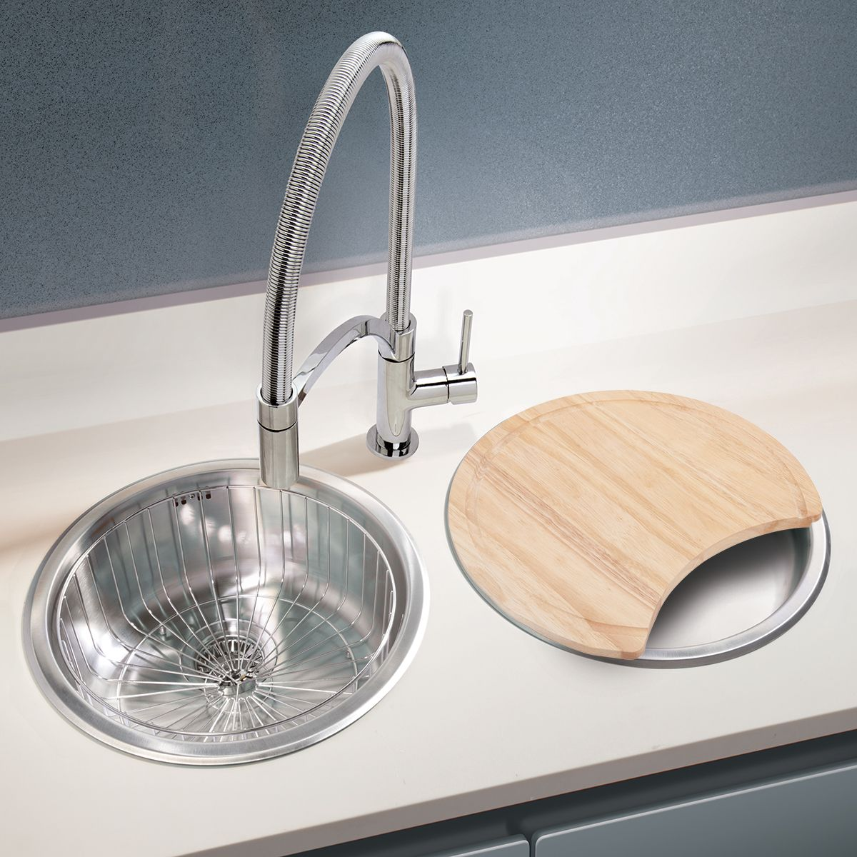 bluci rubus round bowl and drainer set