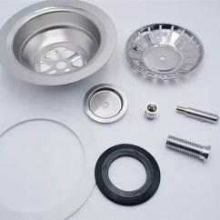 Kitchen Sink Drain Electronics Strainer Stainless Steel Waterproof Plug