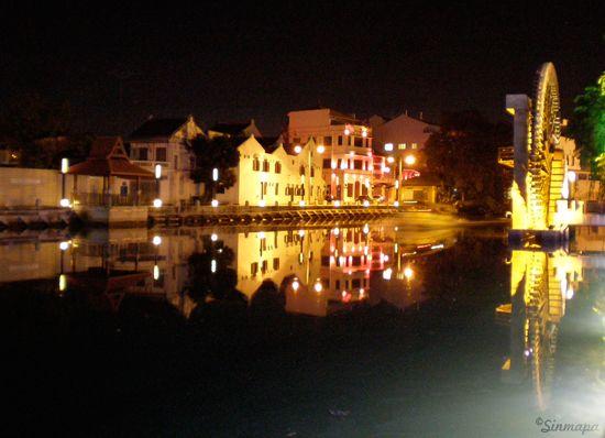 A orillas del rio Melaka Malaca Qué ver y qué hacer