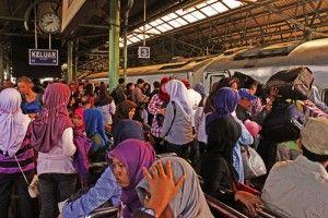 Estación de tren de Jakarta