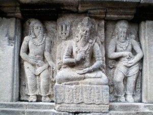 Relieve en el templo de Prambanan