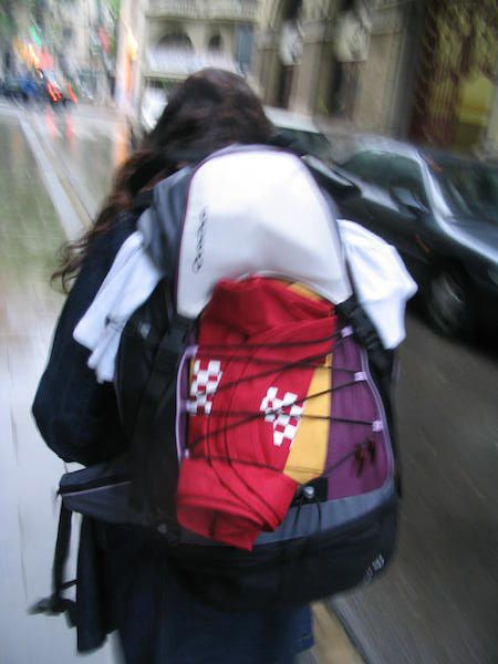 cómo hacer la mochila