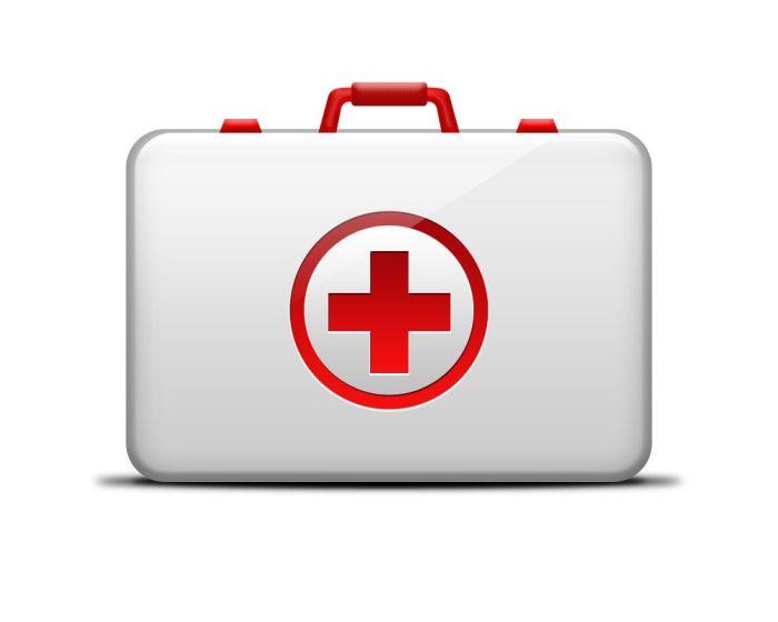 Botiquín médico primeros auxilios