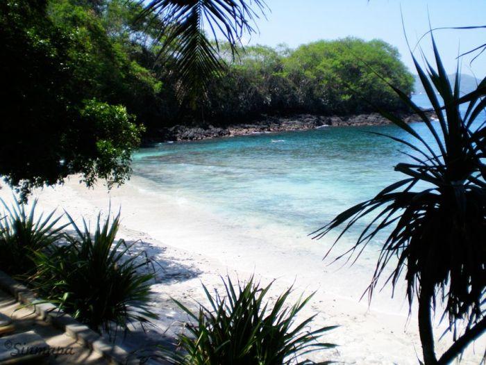 playa Blue Lagoon en Padangbai. Masaje balinés