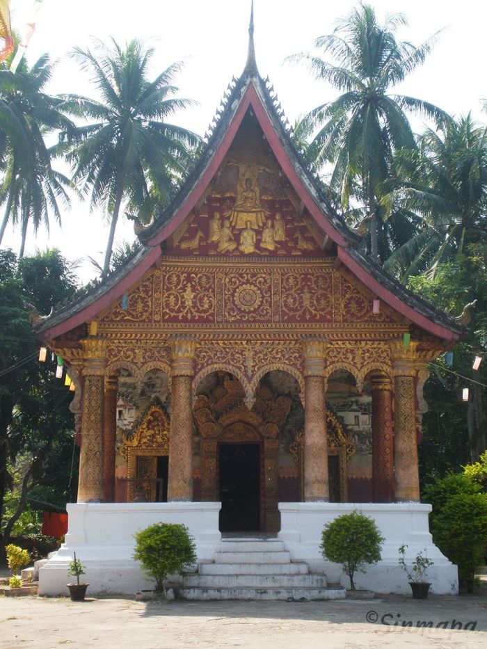 Templo Luang Prabang