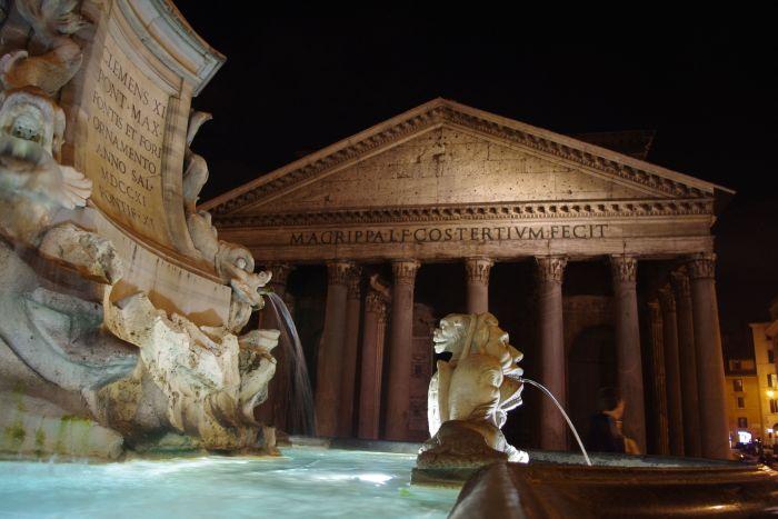 viajar en verano coronavirus El panteón en Roma, Italia