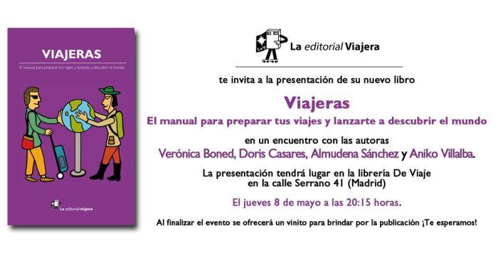 Presentación de Viajeras en la Librería DeViajes - Madrid - libro viajeras