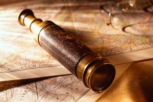 Telescope on Map - guías de viaje