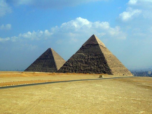 Piramides-Giza tours de Google Street View