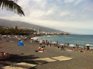 Playa en Tenerife, España
