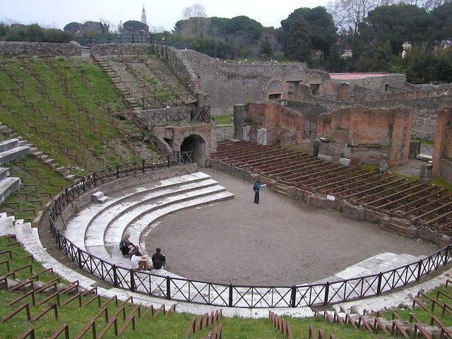 Pompeya - Italia tours de Google Street View