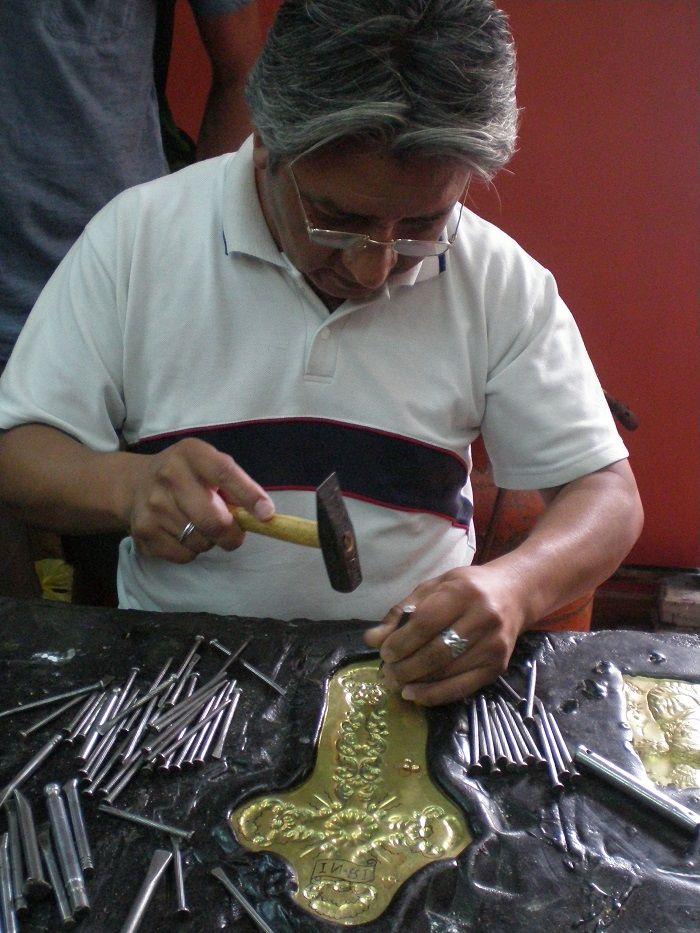 Trabajando aplicaciones en oro en Quito