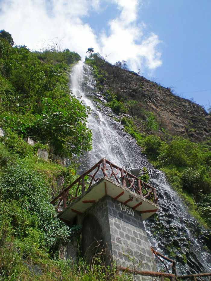 Cascada Vírgen, Baños de Agua Santa, Ecuador