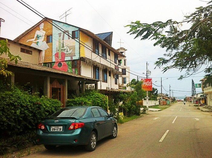 Calles de Olon Ecuador