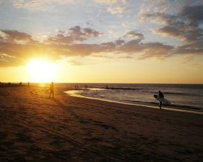 Atardecer en Máncora Perú