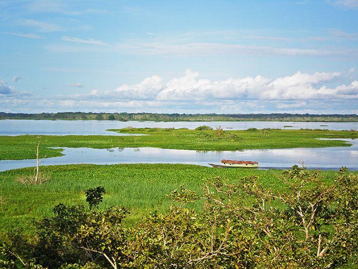 Vistas desde el Malecón en Iquitos