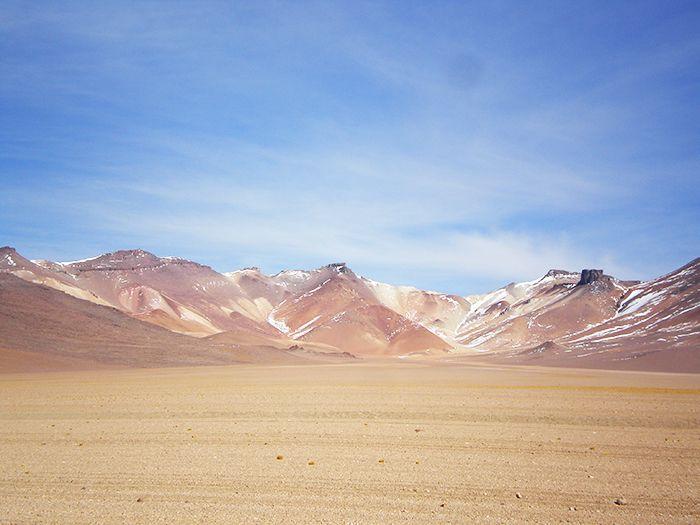 Desierto Dali en Bolivia
