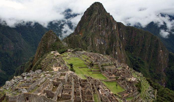 Machu Picchu Peru Aguas Calientes Ciudadela Inca