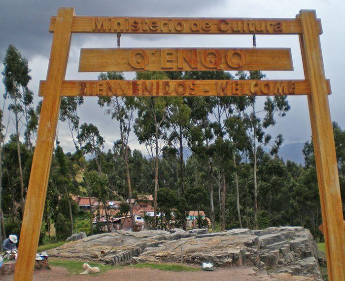 Entrada a Q'enqo - Qué ver y hacer en Cusco Cuzco Peru