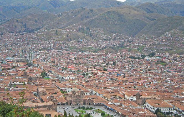 La bellísima Cusco vista desde el Cristo Blanco