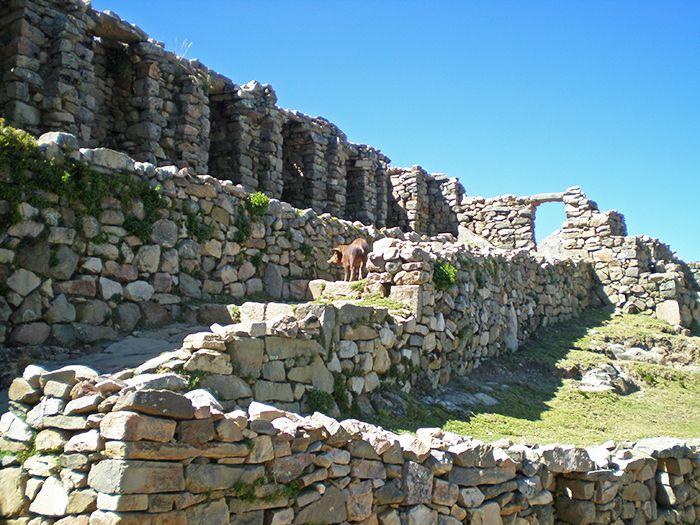 Ruinas de Chinkana - Cómo ir a la Isla del Sol - Qué ver en Isla del Sol - Bolivia