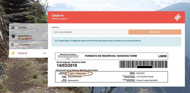 Cómo comprar la entrada online a Machu Picchu