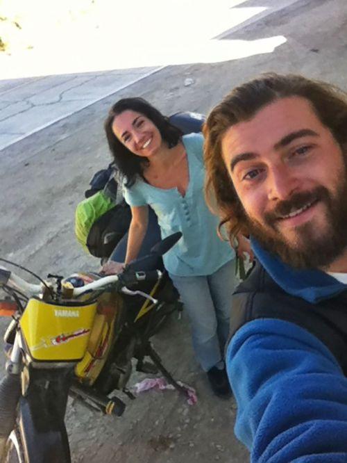 en moto por Bolivia
