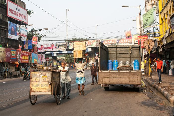 Calles de Calcuta