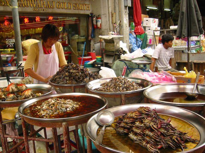 Puestos callejeros de comida mitos sobre los mochileros