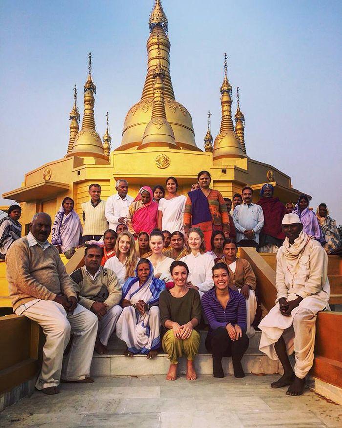 2015 viajero El curso de meditación Vipassana en Shravasti - India