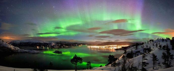 Auroras boreales - Foto de la web: blogpolitours.wordpress.com