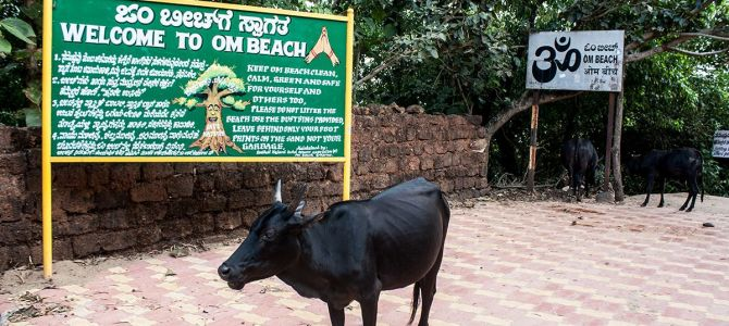 Mi frustrado intento por celebrar Diwali en Om beach