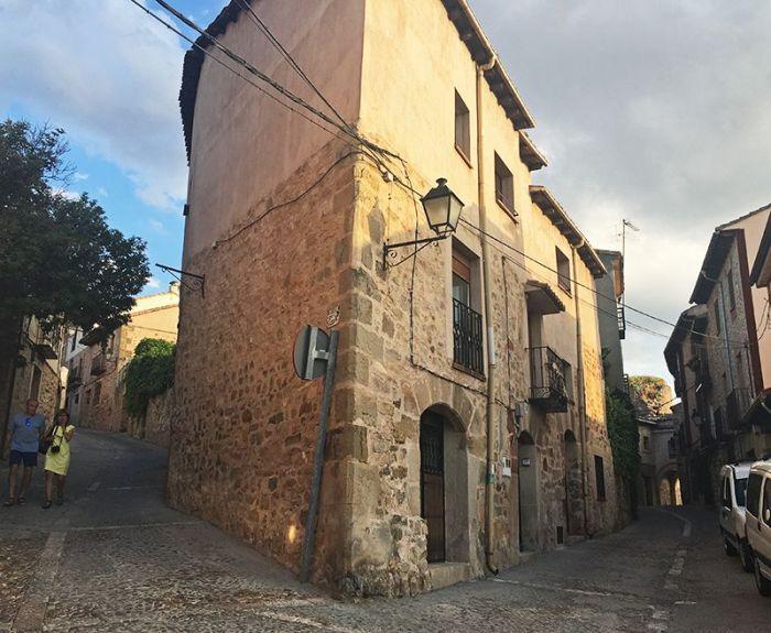 Callecitas y aqrquitectura medieval