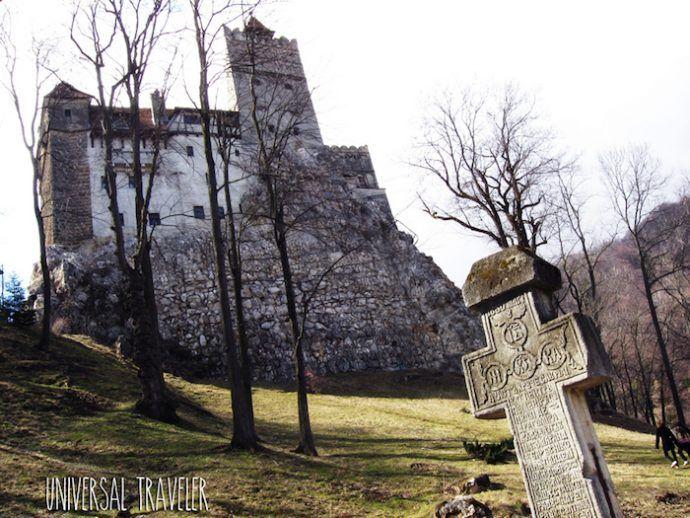 Destinos terroríficos Castillo de drácula. Crédito: Universal Graveler