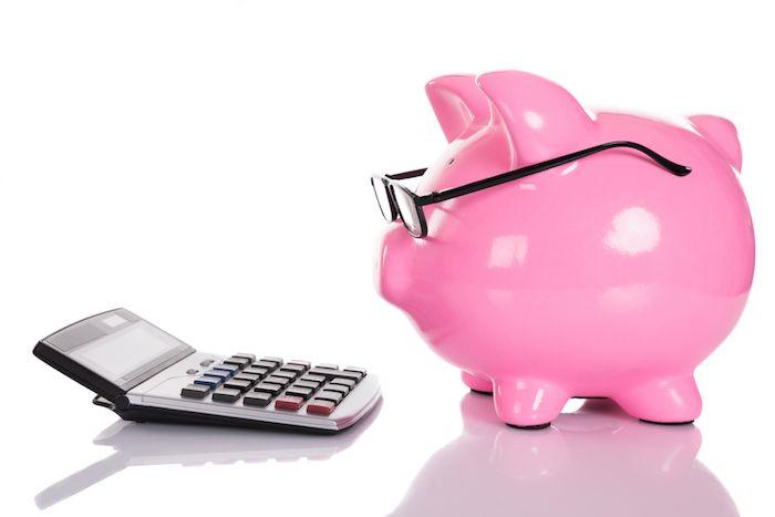 Hacer el presupuesto via Shutterstock