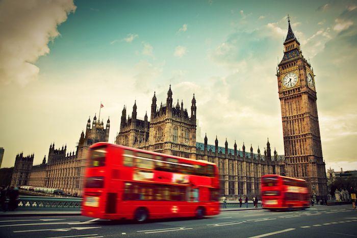 Estampa típica londinense via Shutterstock