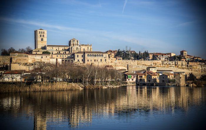 Vistas de Zamora via Shutterstock