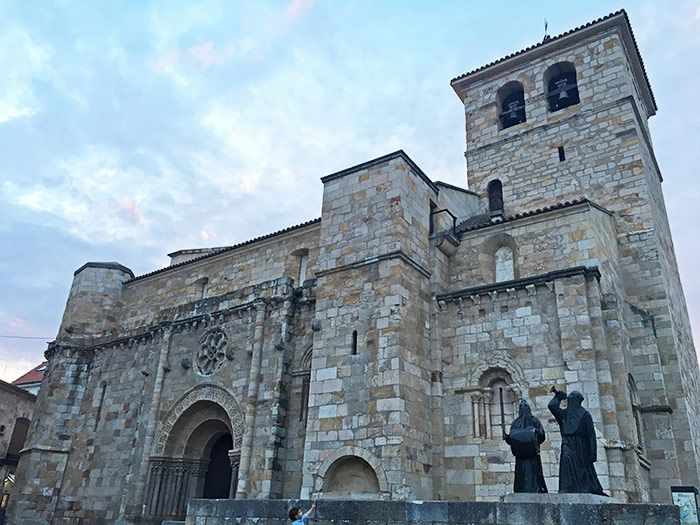 Iglesia de San Juan Bautista en Zamora