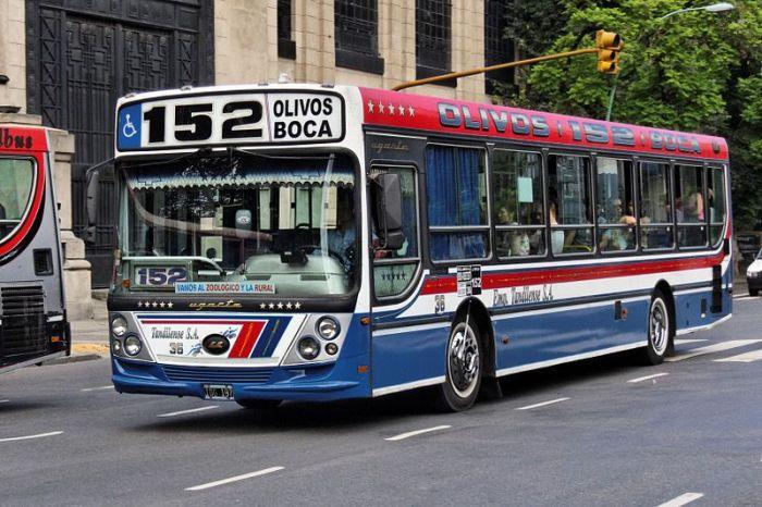 colectivo 152 en Buenos Aires Argentina