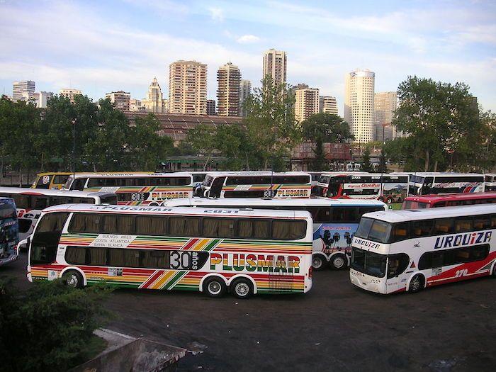 Terminal de omnibus Retiro - Buenos Aires. Foto: wikipedia
