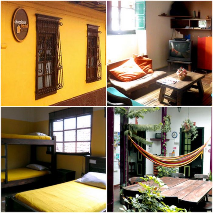 Hoteles baratos en Bogotá