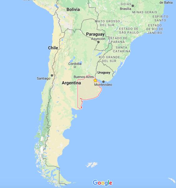 mapa de argentina y provincia de Buenos Aires