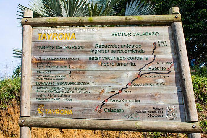 Resultado de imagen para trekking playas pnn tayrona