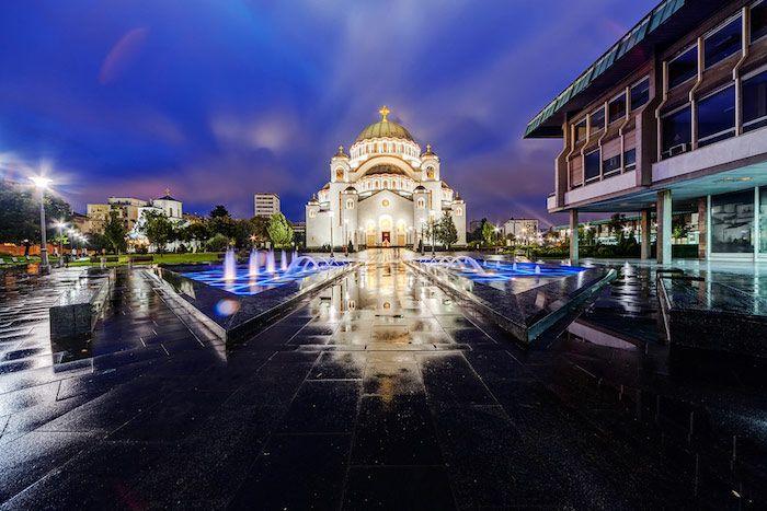Templo San Sava en Belgrado