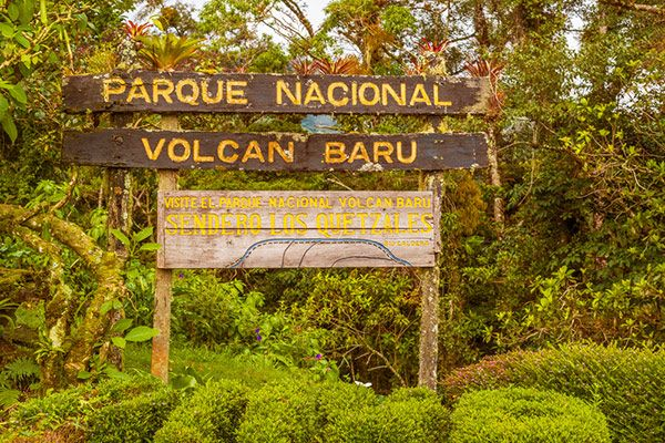 parque nacional volcán baru
